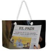 New Pope Weekender Tote Bag