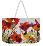 New Poppies Weekender Tote Bag