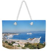 New Port Corfu Weekender Tote Bag