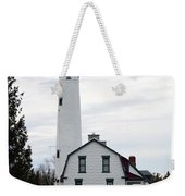 New Presque Isle Lighthouse Weekender Tote Bag