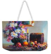 New Reflections Weekender Tote Bag by Talya Johnson