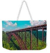 New River Gorge Weekender Tote Bag
