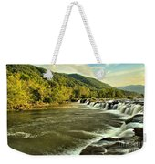 New River Landscape Weekender Tote Bag