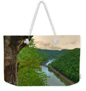 New River Railroad Bridge At Hawk's Nest  Weekender Tote Bag