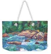 New River Fast Water Weekender Tote Bag