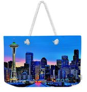 New Seattle Day Weekender Tote Bag
