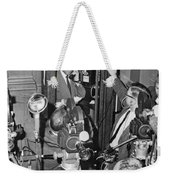New Site For Clay-liston Fight Weekender Tote Bag