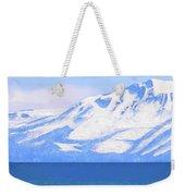 New Snow Lake Tahoe Weekender Tote Bag