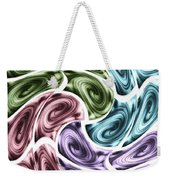 New Swirls Weekender Tote Bag