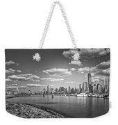 New World Trade Center Bw Weekender Tote Bag