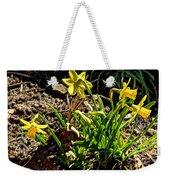 New Yellow Flowers 1 Weekender Tote Bag
