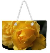 New Yellow Rose Weekender Tote Bag
