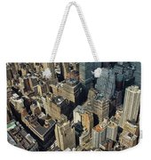 New  York Architecture Weekender Tote Bag