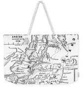 New York: Armies, 1776 Weekender Tote Bag
