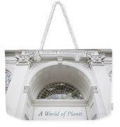 New York Botanical Garden Archway Columns Entrance Architecture Weekender Tote Bag