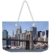 New York Bridge 3 Weekender Tote Bag