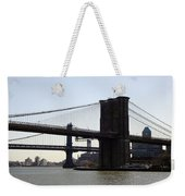 New York Bridge 5 Weekender Tote Bag