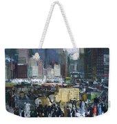New York City 1900s Weekender Tote Bag