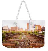 New York City - Abandoned Railroad Tracks Weekender Tote Bag