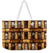 New York City Apartment Building Study Weekender Tote Bag