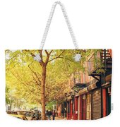 New York City - Autumn In The East Village  Weekender Tote Bag