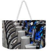 New York City Bikes Weekender Tote Bag