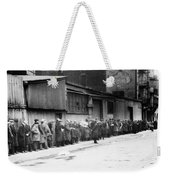 New York City Bread Line Weekender Tote Bag
