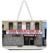 New York City Storefront 4 Weekender Tote Bag