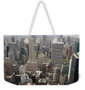 New York City Canyons Weekender Tote Bag