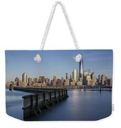 New York City Financial District Weekender Tote Bag