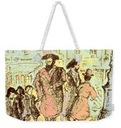 New York City Jews - Fine Art Weekender Tote Bag