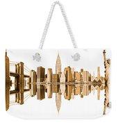 New York City Landmarks - Usa Weekender Tote Bag