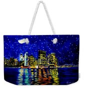 New York City Lower Manhattan Weekender Tote Bag