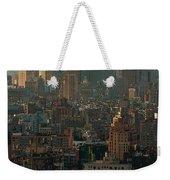 New York City Posterized Weekender Tote Bag