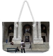 New York City Public Library Weekender Tote Bag
