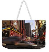 New York City Rush Weekender Tote Bag
