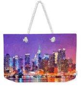 New York City - Skyline 0 Weekender Tote Bag