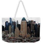 New York City Skyline 19 Weekender Tote Bag