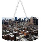 New York City Skyline 20 Weekender Tote Bag