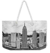 New York City Skyline - Lego Weekender Tote Bag