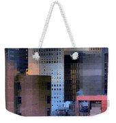 New York City Skyline No. 3 - City Blocks Series Weekender Tote Bag