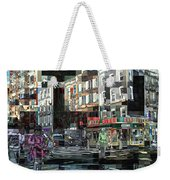 New York City Streets - Ritz Diner Weekender Tote Bag