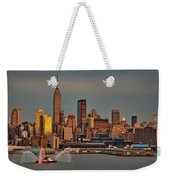 New York City Sundown On The 4th Weekender Tote Bag