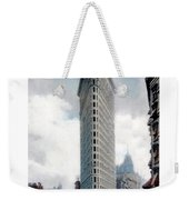 New York City - The Flatiron Building - Fifth Avenue - 1904 Weekender Tote Bag