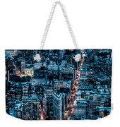 New York City Triptych Part 2 Weekender Tote Bag