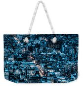 New York City Triptych Part 3 Weekender Tote Bag