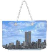 New York City Twin Towers Glory - 9/11 Weekender Tote Bag