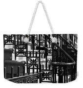 New York City Wrought Iron Weekender Tote Bag by Rona Black