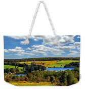New York Countryside Weekender Tote Bag by Christina Rollo