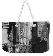New York Curb Market, 1918 Weekender Tote Bag